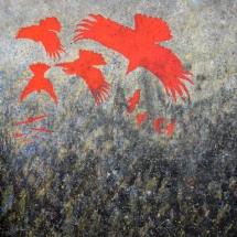 Impact Falling Crows