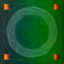 Hadron Mandala #3   36x36   2015_2