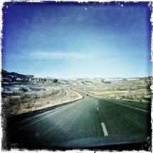 Manti La Sal I-70 Utah Winter 2012