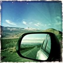 Rearview, I-70 Colorado