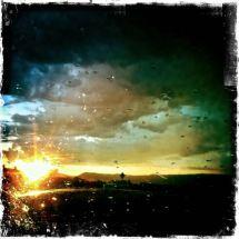 Sunset Rain, HWY 82, Colorado